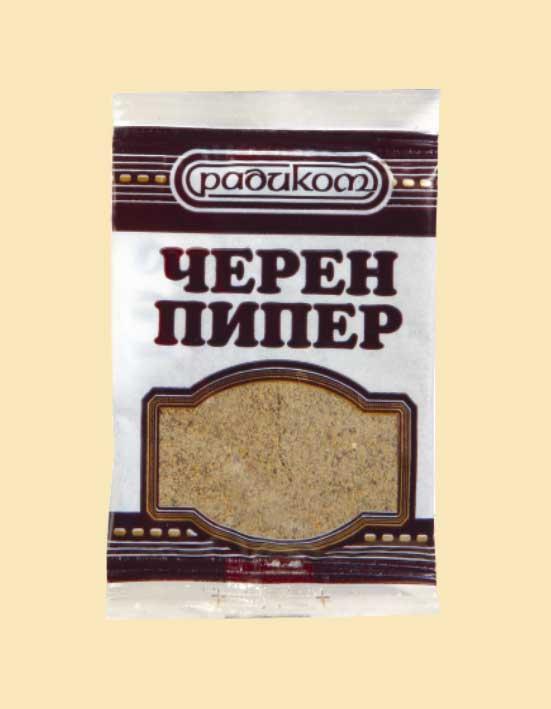 ЧЕРЕН ПИПЕР МЛЯН 10g